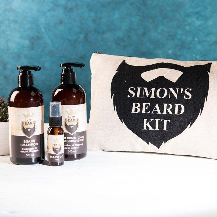 b5530b559570 Personalised Gifts For Him   Personalised Beard Kit ...