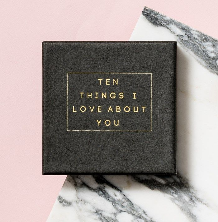 75c7ca187823b Personalised Gifts For Him   Personalised Posh Totty Designs 10 Things I  Love About You Message Box