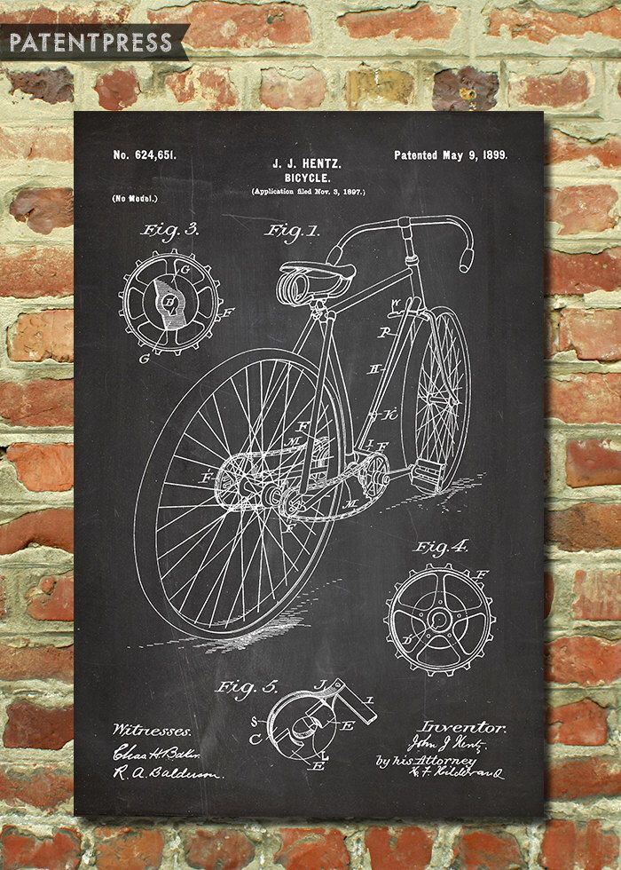Bicycle Art Gifts For Cyclists Gift Idea Wall Bike Decor
