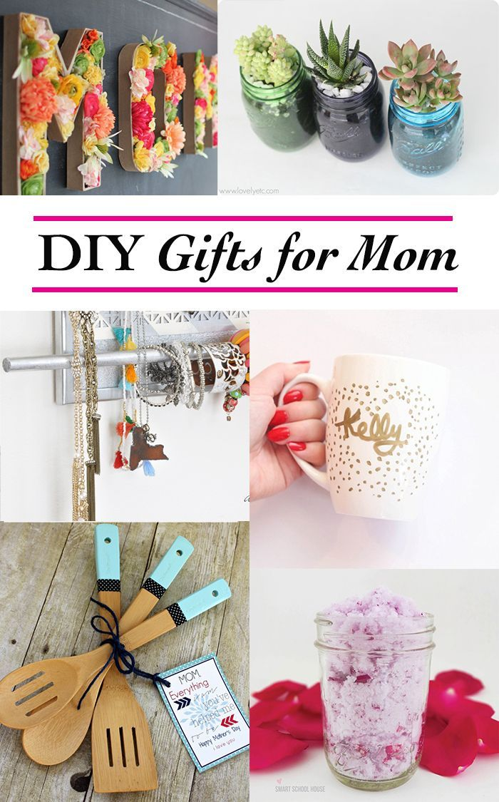 Birthday Gifts Creative Homemade Gift Ideas For Mom