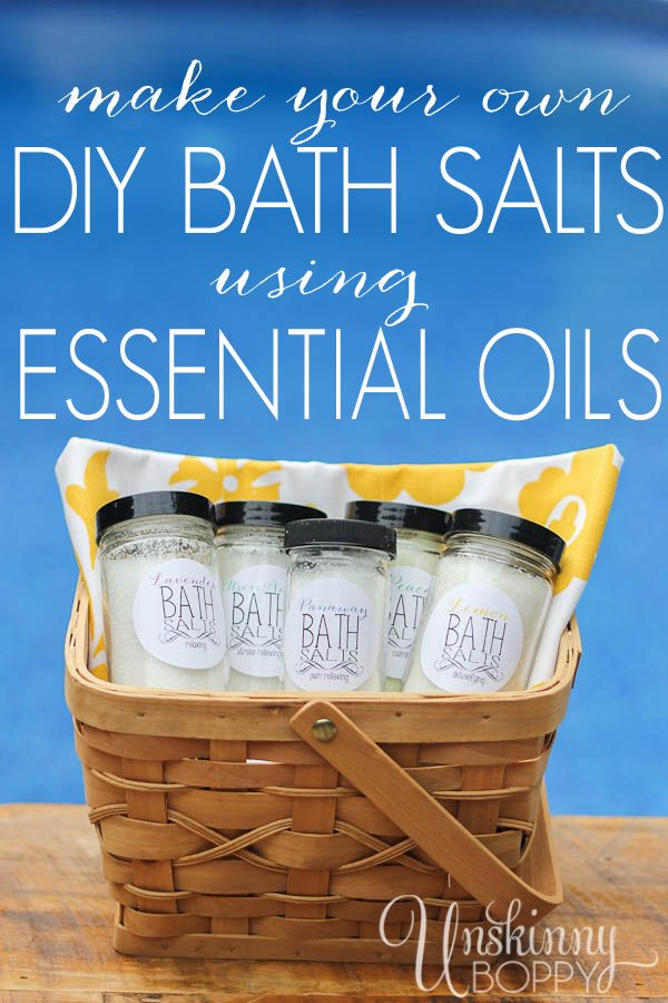 Birthday gifts diy bath salts using essential oils my gifts list birthday gifts diy bath salts using essential oils negle Images