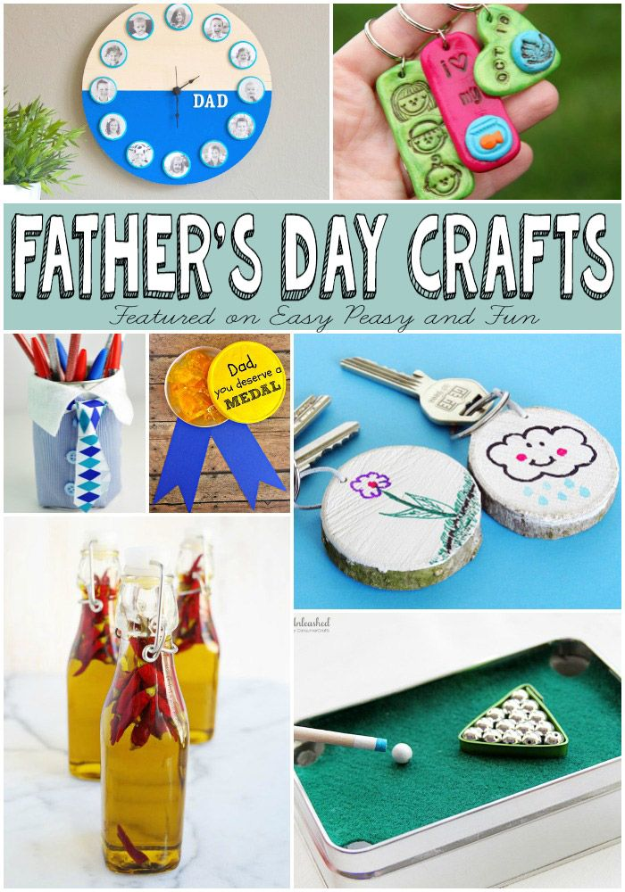 Father's Day Gifts Kids Can Make.