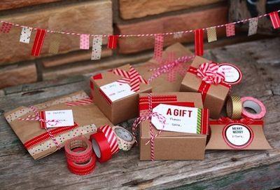 Festive Christmas Washi Tape Crafts