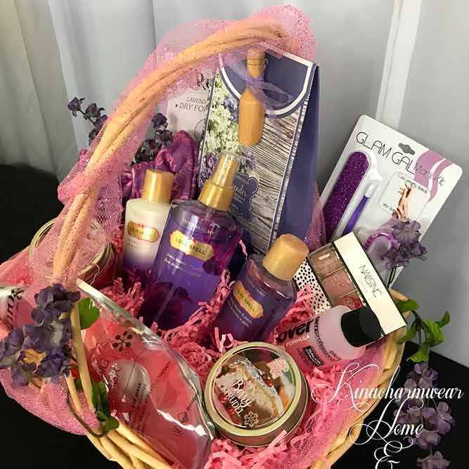 Birthday Gifts Gift Basket Ideas For Best Friend