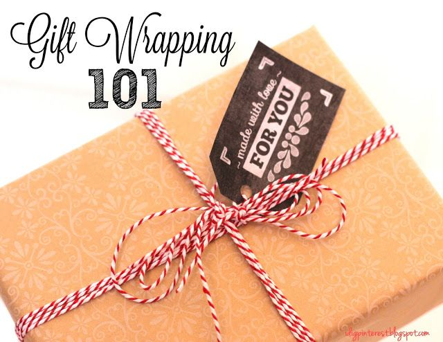 How To Wrap A Pretty Gift In Under 5 Minutes