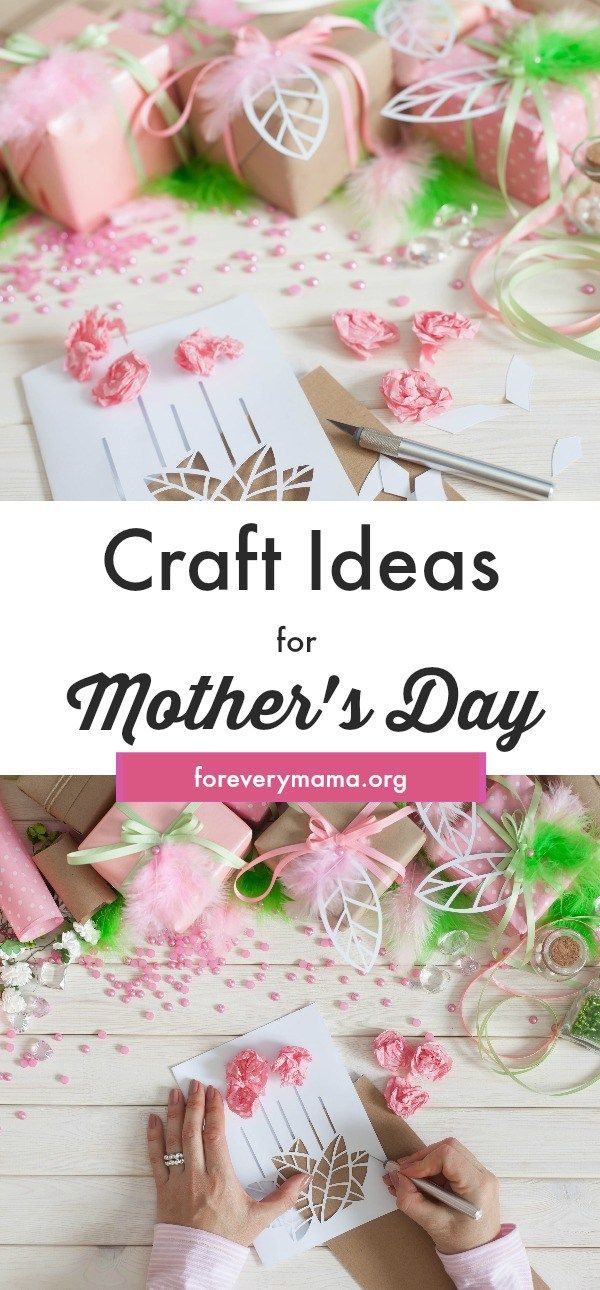 Birthday Gifts Mothers Day Craft Ideas