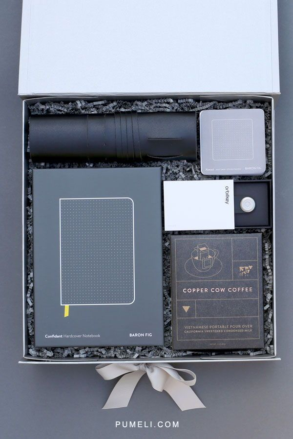 Corporate Gift Box.  Filled with refined office essentials, The Executive Gift B...