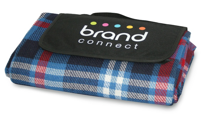 Get your picnic rugs! Great idea for a corporate christmas gift