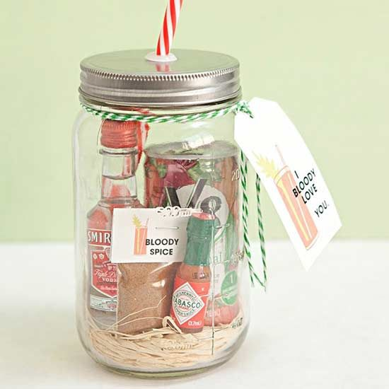 Diy Gifts Ideas We Know Mason Jars Are Cute And They Just Became Even Cuter With These Gift Ide My Gifts List Leading Gifts Inspiration Magazine Gift Ideas For