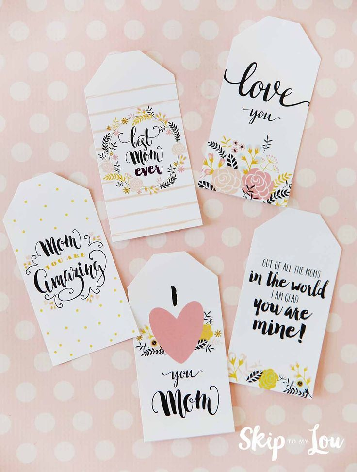 Diy Gifts Free Printable Mothers Day Gift Tags My Gifts