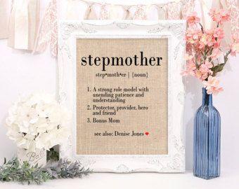 Bonus Mom Stepmother Present S Day Birthday Gift Mother Ideas