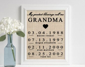 mother s day gift ideas grandma gift personalized mothers day
