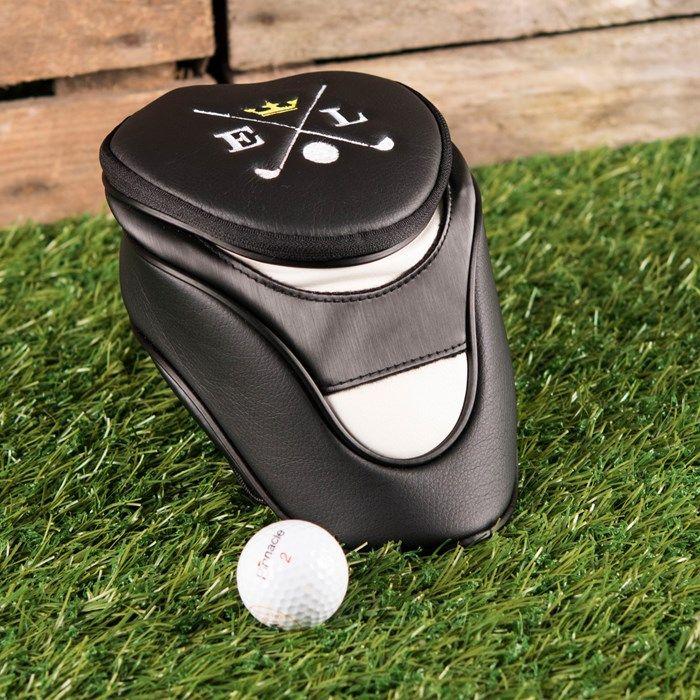 Personalised Golf Head Cover - Crown   GettingPersonal.c...
