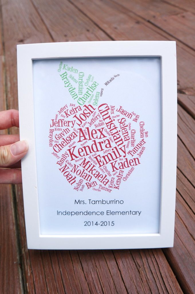 Apple Themed Teacher Gifts Free Printables More & Personalised Gifts Ideas : Apple Themed Teacher Gifts Free ...