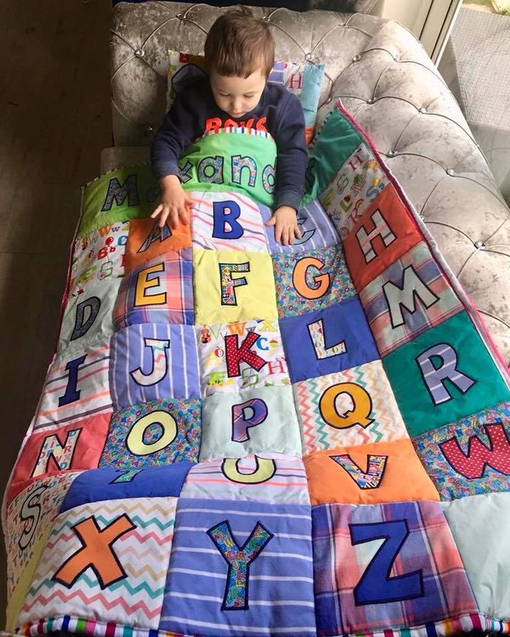 Custom handcrafted Memory Quilts made from loved ones clothes www.etsy.com/... #...