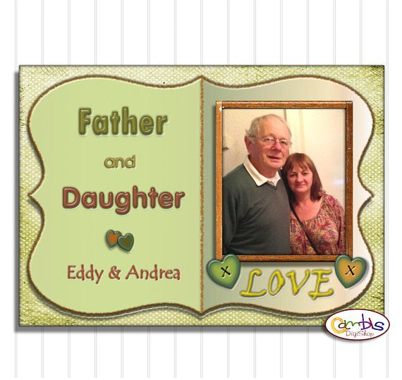 Personalised Gifts Ideas : Dad Photo