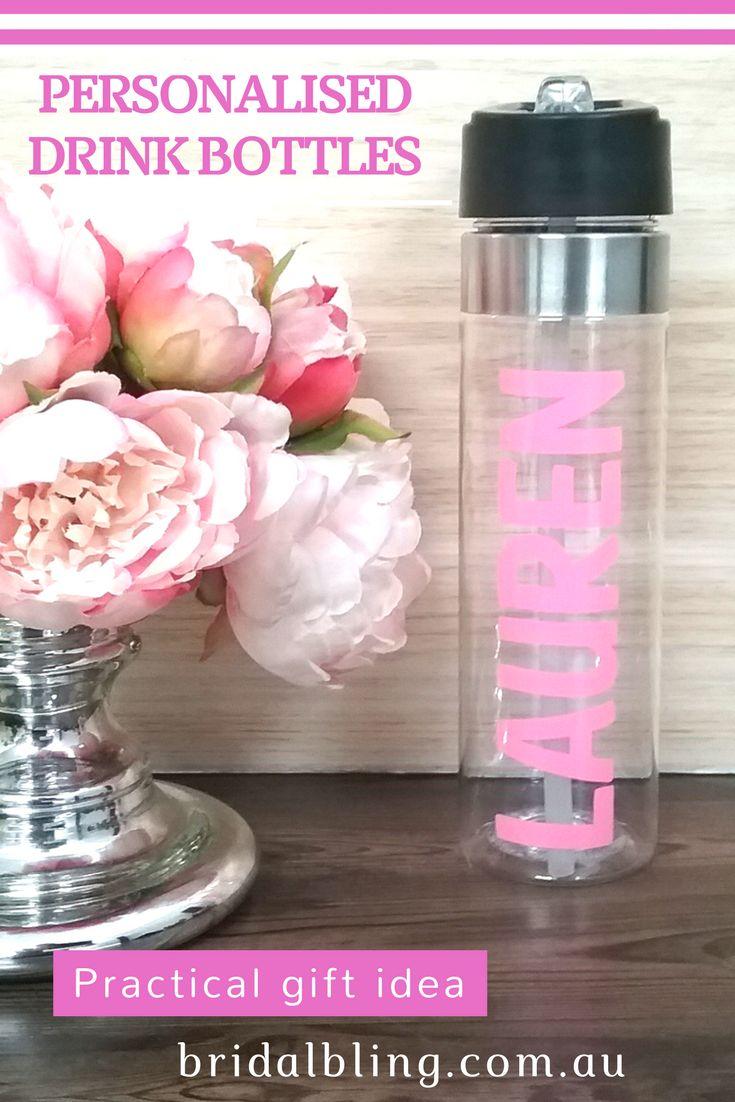 Personalised Gifts Ideas : Personalised drink bottle, wedding drink ...