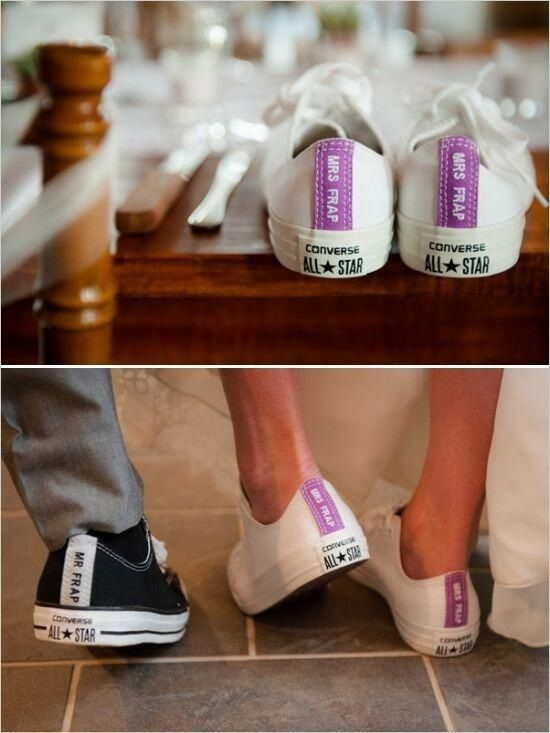 78f64c07e71 Personalised Gifts Ideas : Reception custom Converse sneakers!! I ...
