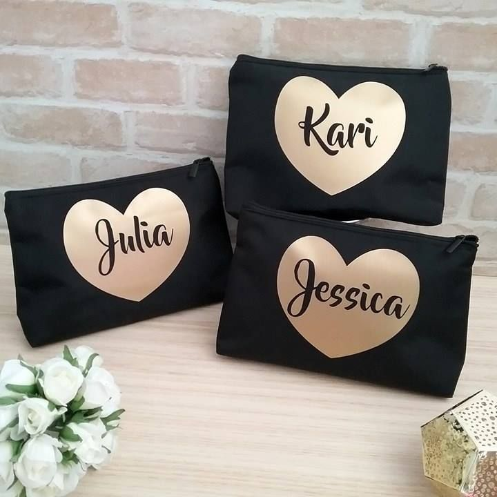 Personalised Gifts Ideas Brides Gift Personalized Makeup Bag