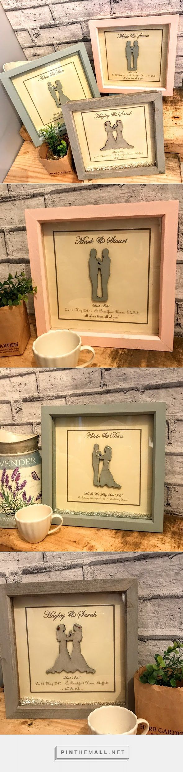 Minimal, and modern, this wooden deep box frame oozes class. Created using muted...