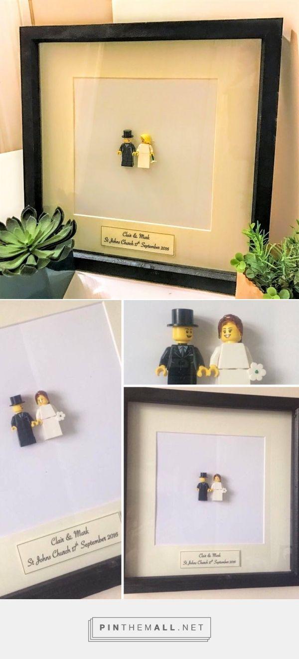 Personalised Gifts : Personalised lego wedding frame Lego art Lego ...