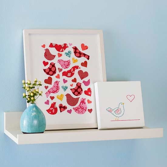 Express your affection by creating these simple handmade gifts and decorations f...