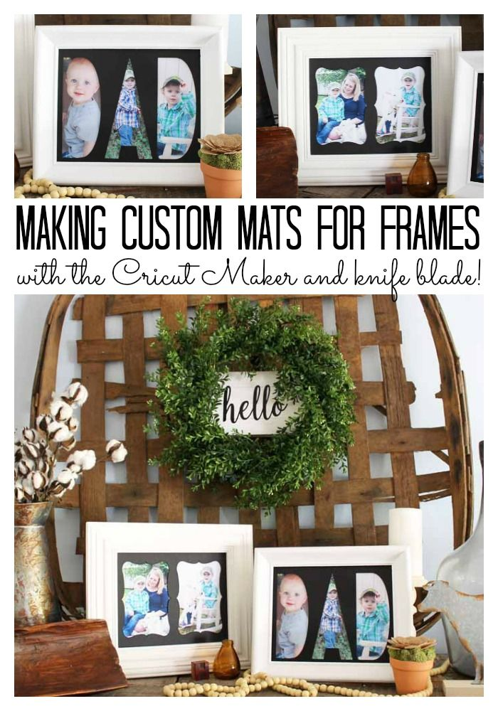 Birthday Gifts : How to make custom mats for frames using your ...