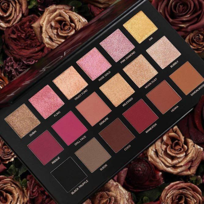 Birthday Gifts Huda Beauty Eyeshadow Set For A Woman That Is Into Makeup
