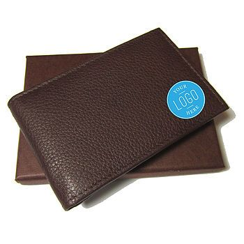 Corporate Gift Men's Mini Leather Wallet