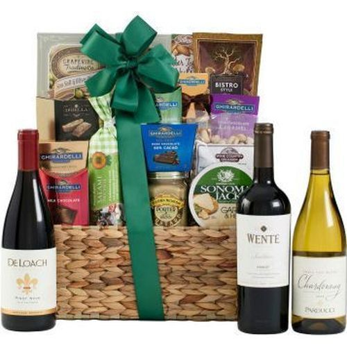 Corporate Gifts Ideas     Wine Gift Basket | Corporate Gifts