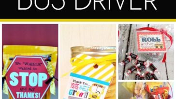 Birthday gifts top coat collection from her favorite brands diy gifts 12 creative gift ideas for the bus driver solutioingenieria Choice Image