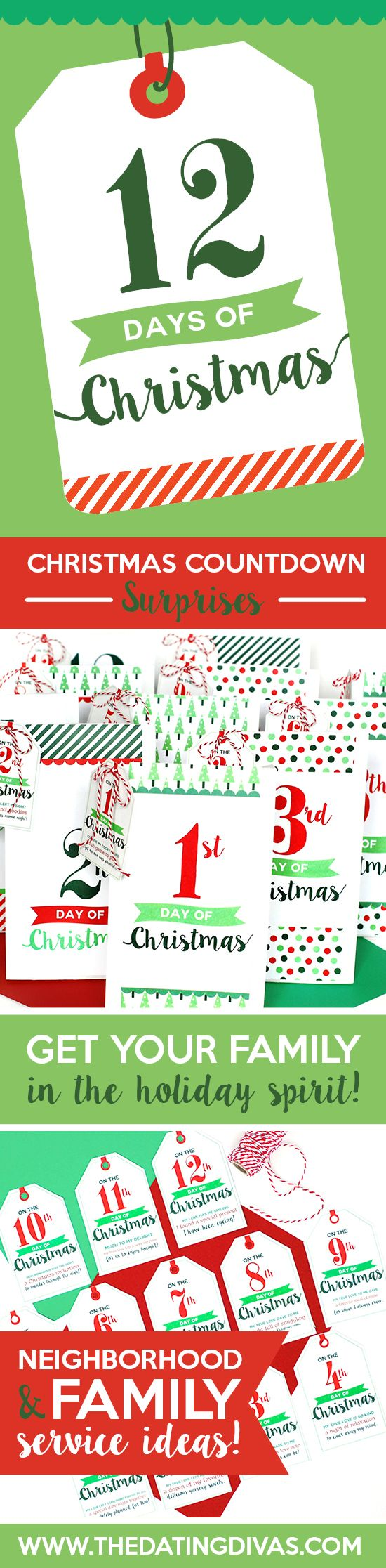 image about 12 Days of Christmas Printable Tags referred to as Do-it-yourself Items : 12 Times of Xmas company strategy. Just about anything