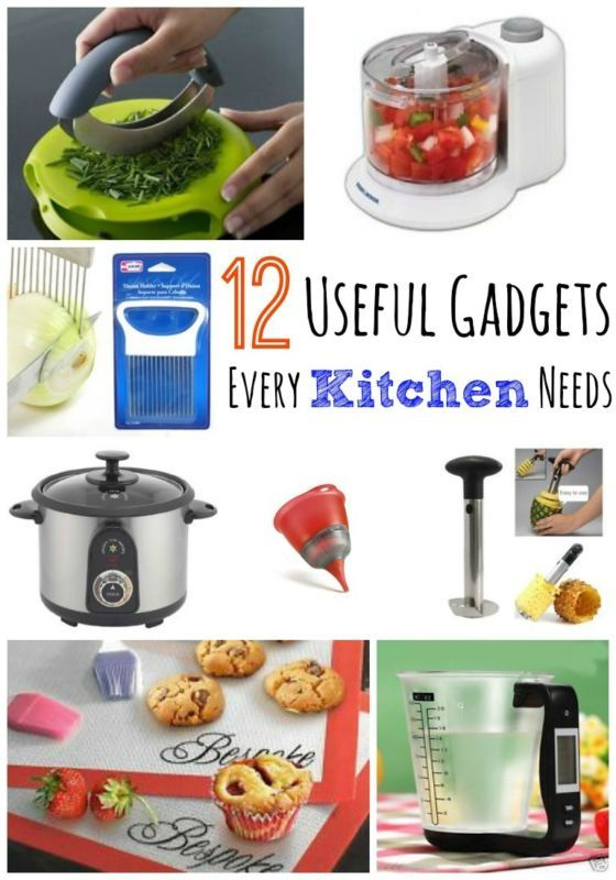 12 Useful Gadgets every kitchen needs