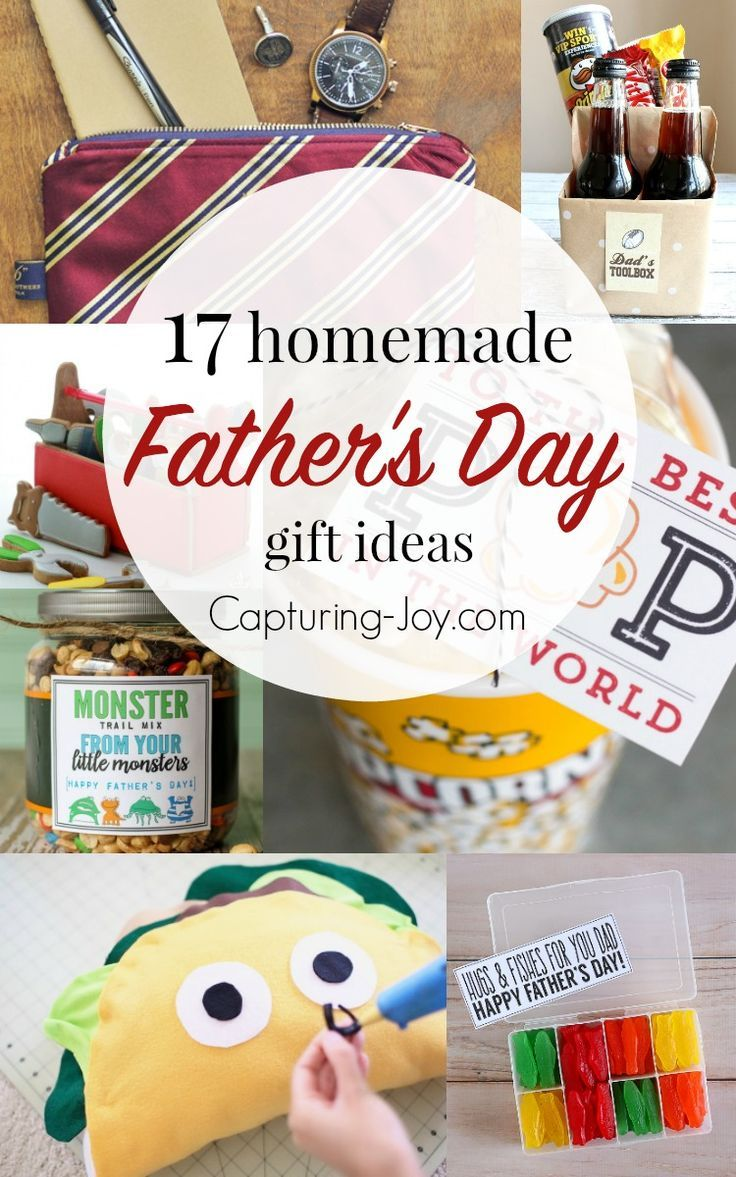 DIY Gifts : 17 Homemade Father\'s Day Gifts. | Great gift ideas dad ...