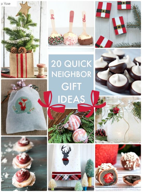 20 Quick and Easy Neighbor Gift Ideas