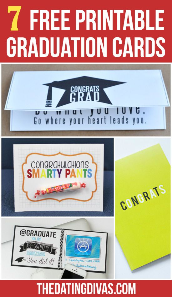 photo relating to Printable Graduation Cards identified as Do-it-yourself Items : 7 Free of charge Printable Commencement Playing cards!! Get pleasure from such