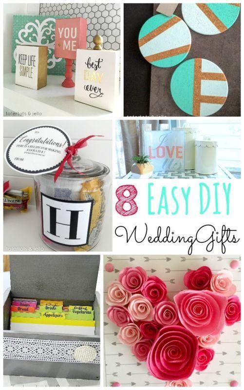 Diy Wedding Gifts.Diy Gifts 8 Easy Diy Wedding Gift Ideas Ebay My Gifts List