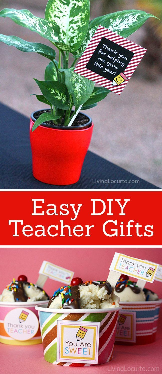 adorable easy to make diy teacher gifts free printable s cards fun diy gifts adorable easy to make diy teacher gifts free printable