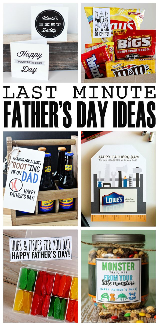 graphic regarding Free Printable Fathers Day Tags named Do-it-yourself Presents : Remarkable very last moment Fathers working day reward tips