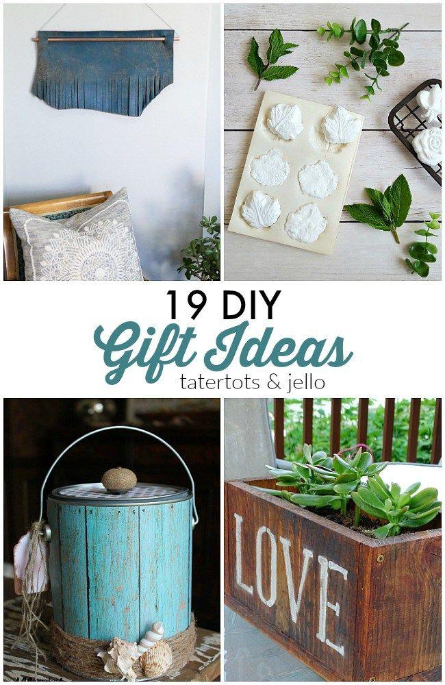 Great Ideas -- 19 DIY Gift Ideas!