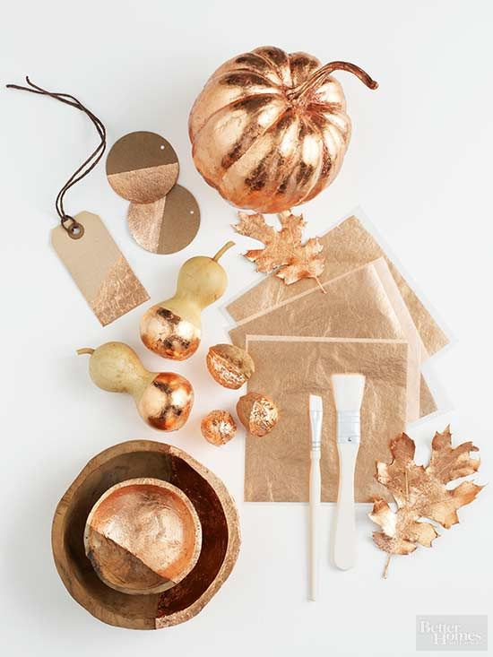 This fall, decorate your home with the metal of the season: copper! This tastefu...