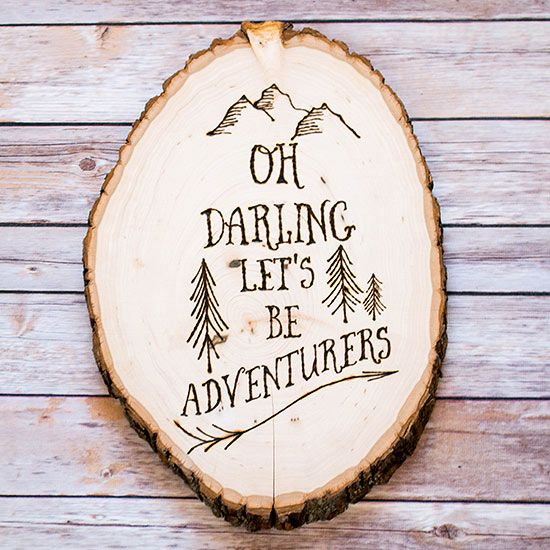 Diy Gifts Ideas Decorate Your Home With These Diy Woodburning
