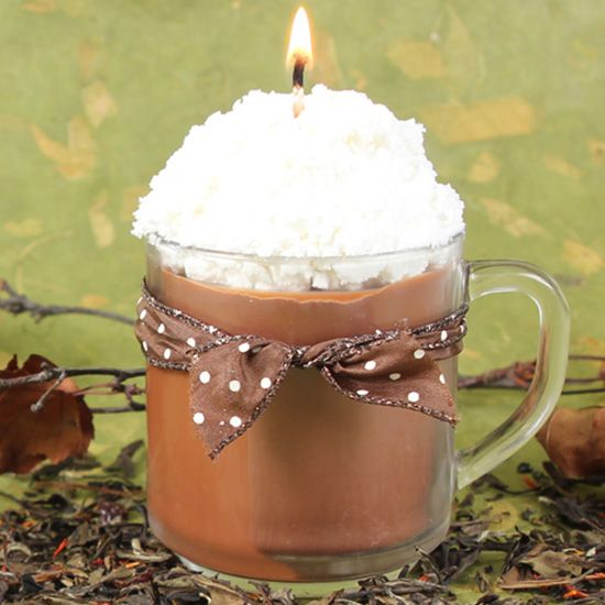 Even if the end of summer makes you a little blue, these autumn DIY candles will...