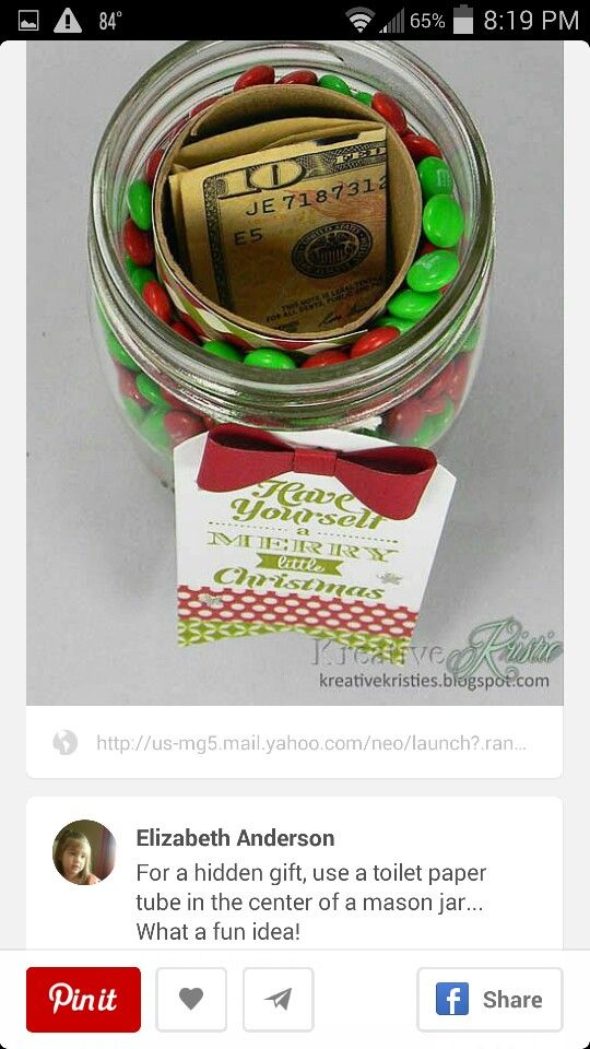 DIY Gifts : Money gift - My Gifts List | Leading gifts