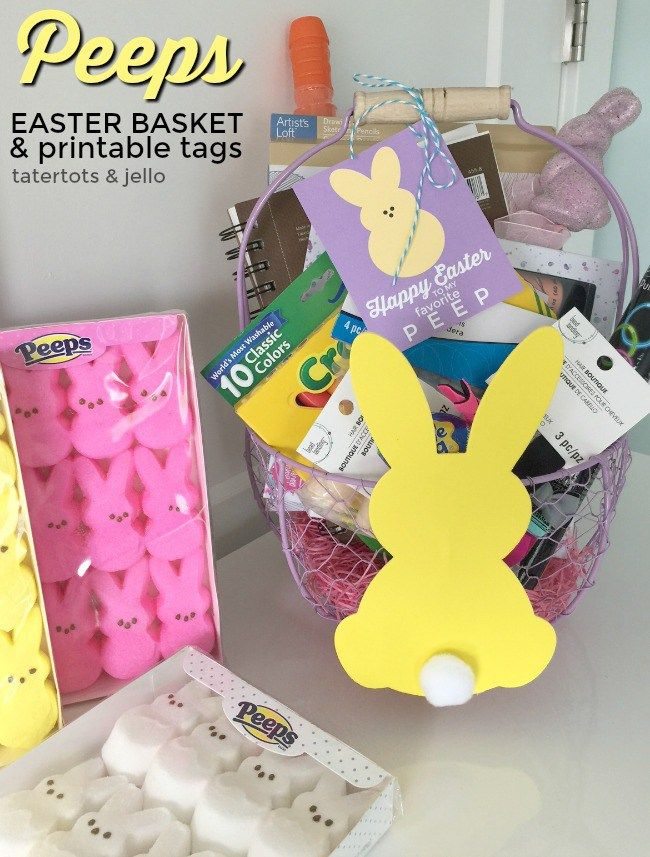 Diy gifts peeps kids easter basket ideas some fun ideas to put in diy gifts peeps kids easter basket ideas some fun ideas to put in an easter basket for negle Image collections