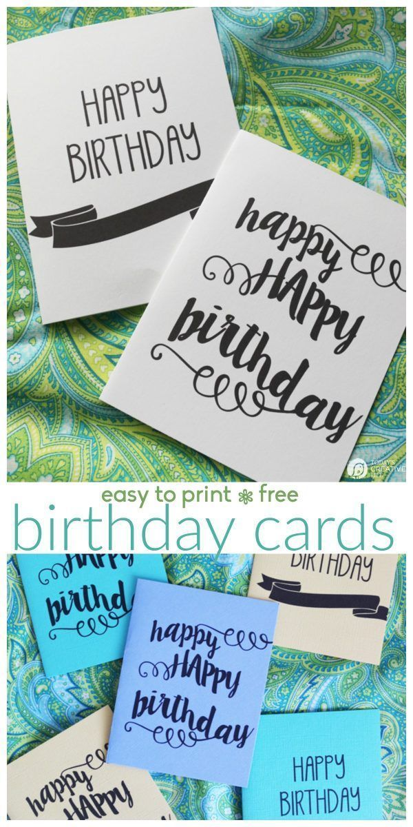 Diy Gifts Printable Birthday Cards Free Printable Birthday Cards For Him Her Girls Or Bo My Gifts List Leading Gifts Inspiration Magazine Gift Ideas For Everyone Find The Perfect