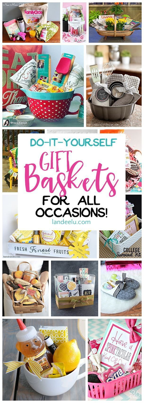 Diy gift basket ideas for her gift ideas diy gifts put together a gift basket for any occasion and make someone s day easy solutioingenieria Gallery