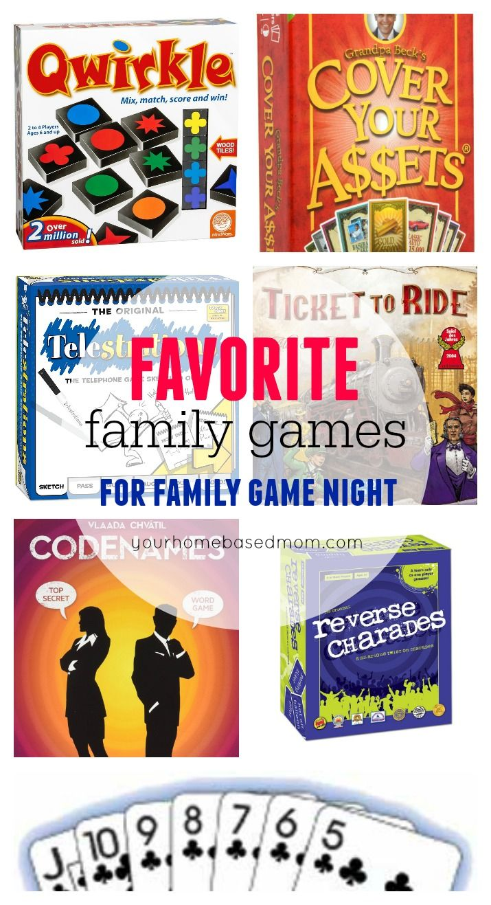 DIY Gifts : These are some of our all time favorite games. I have a ...