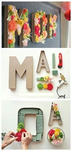 Perfect for Mom's Day activity. Everyone submits the letter they want at lea...