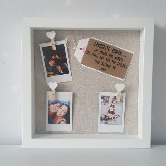 Best Friends Framed Gift A Perfect Keepsake That Is Ideal As For Your